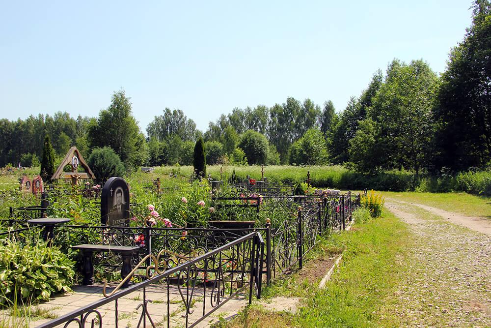 Мамонтовское кладбище. Фото 3