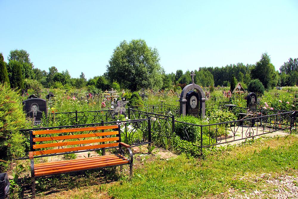 Мамонтовское кладбище. Фото 4