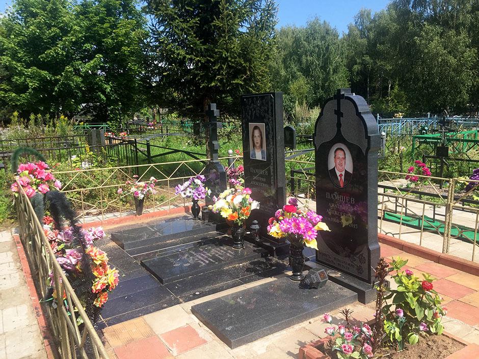 Марфинское кладбище. Фото 6