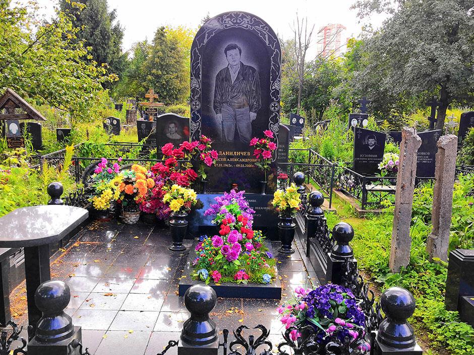 Машкинское кладбище. Фото 4