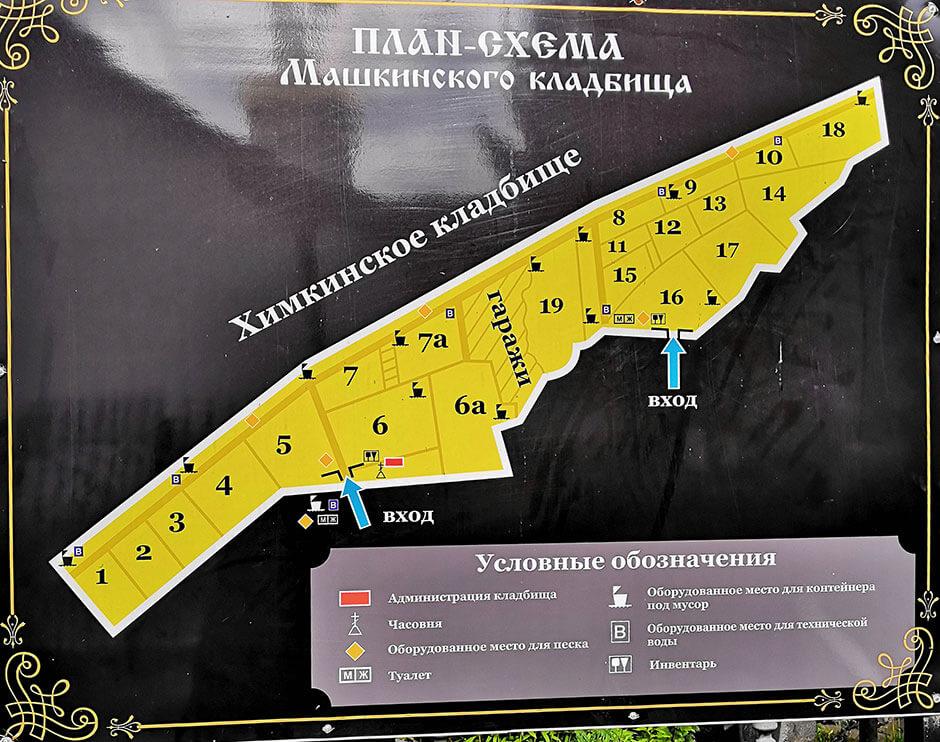 Машкинское кладбище. Фото 7
