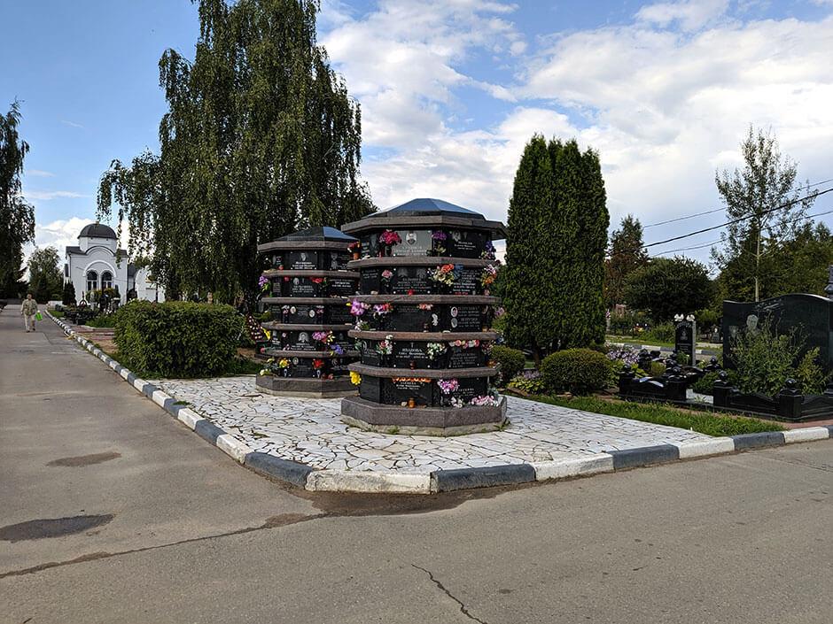 Митинское кладбище. Фото 3