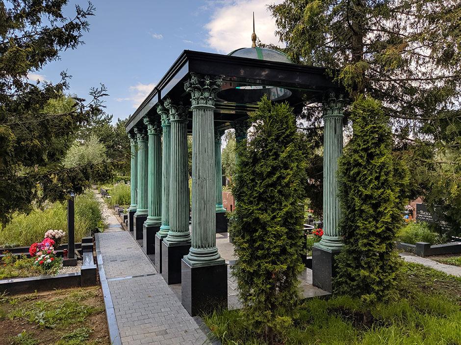 Митинское кладбище. Фото 9