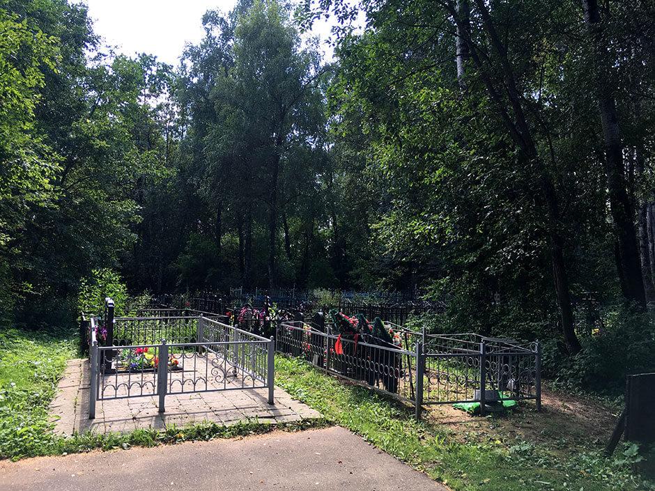 Назаровское кладбище. Фото 3