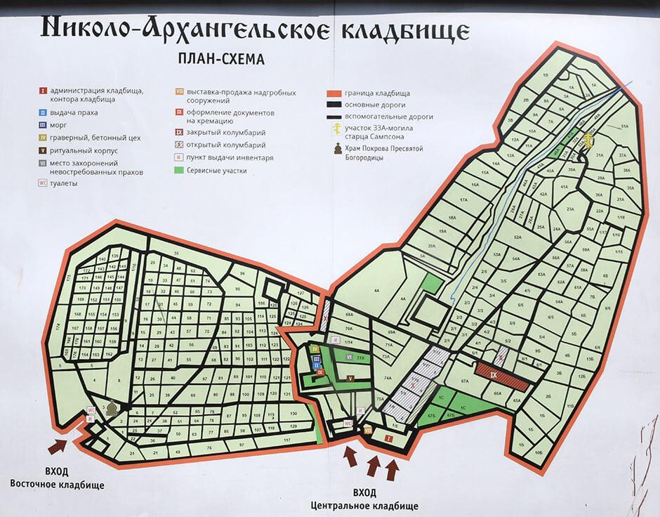 Николо-Архангельское кладбище. Фото 3