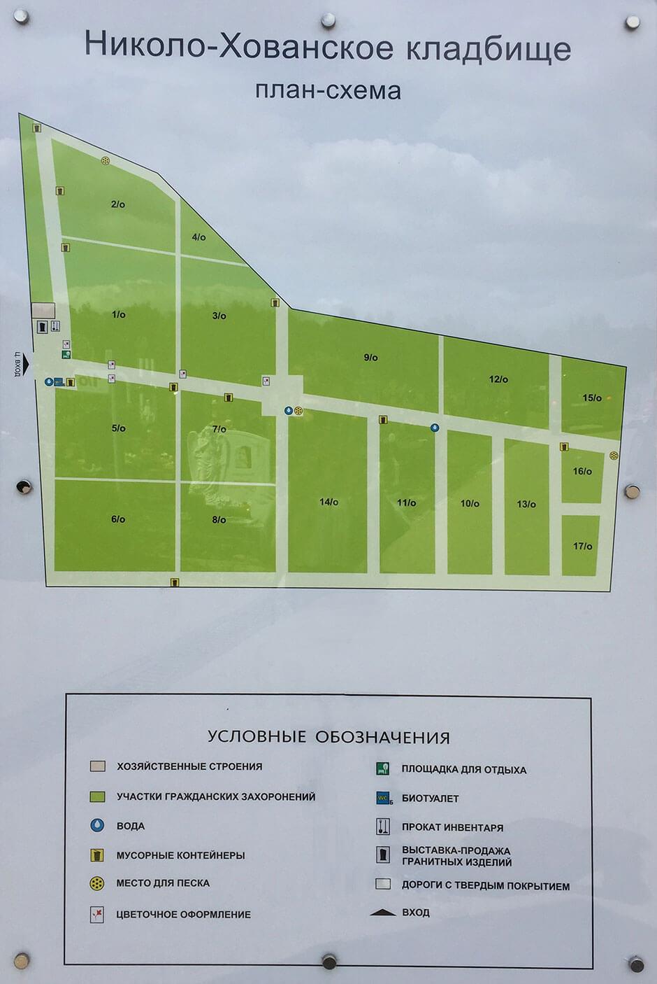 Николо-Хованское кладбище. Фото 2