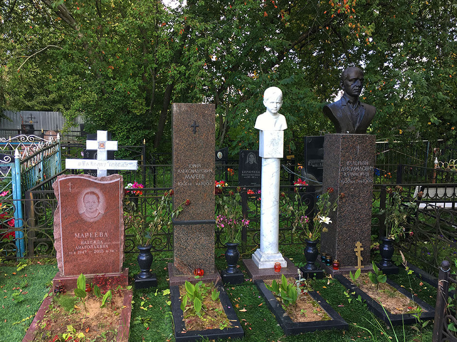 Никулинское кладбище. Фото 2