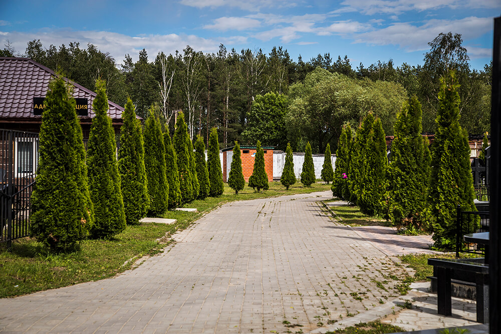 Новодеревенское кладбище (Балашиха). Фото 1