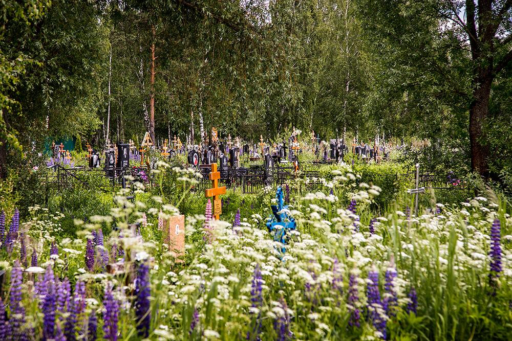Новодеревенское кладбище (Балашиха). Фото 10