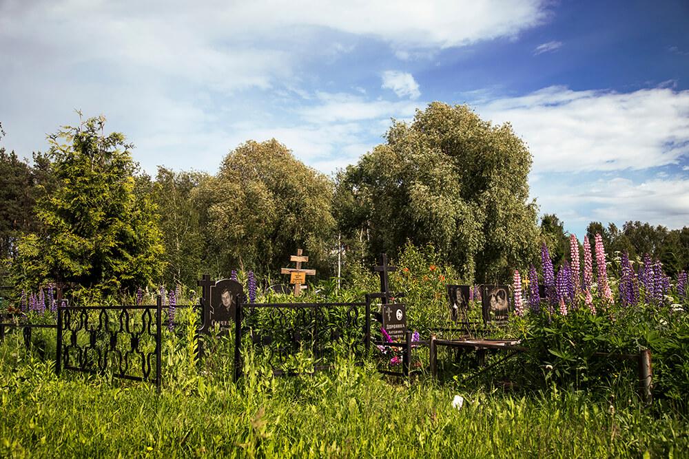 Новодеревенское кладбище (Балашиха). Фото 15
