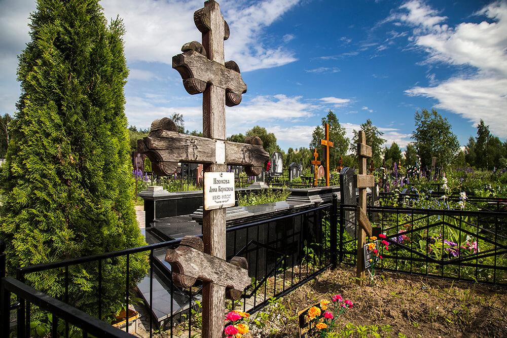 Новодеревенское кладбище (Балашиха). Фото 16