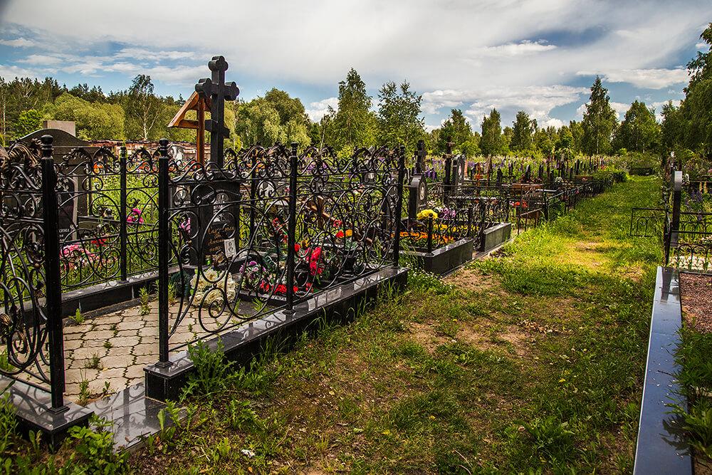 Новодеревенское кладбище (Балашиха). Фото 2