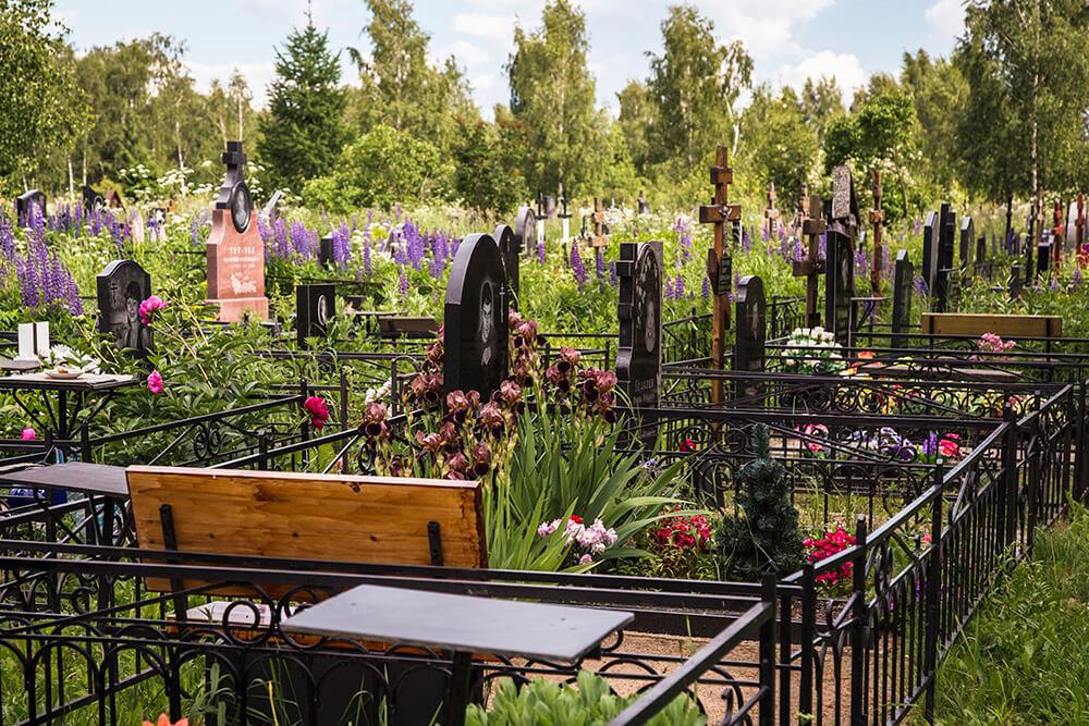 Новодеревенское кладбище (Балашиха). Фото 3