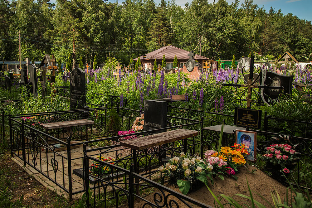 Новодеревенское кладбище (Балашиха). Фото 5