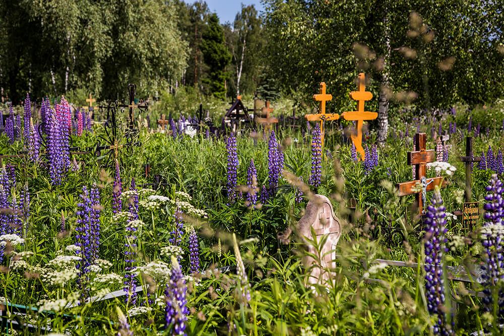 Новодеревенское кладбище (Балашиха). Фото 8