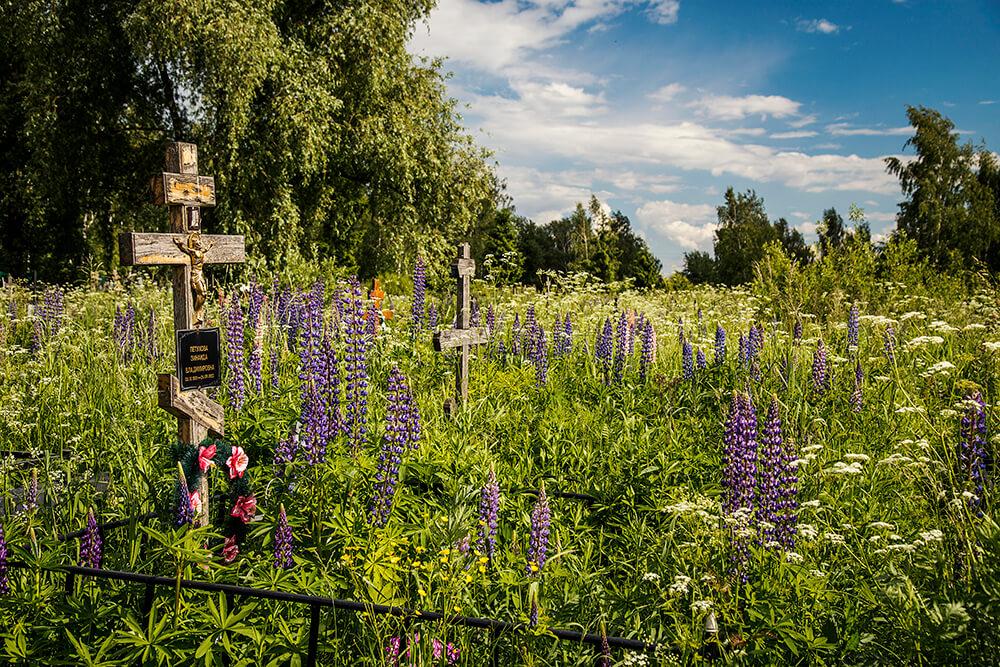 Новодеревенское кладбище (Балашиха). Фото 9