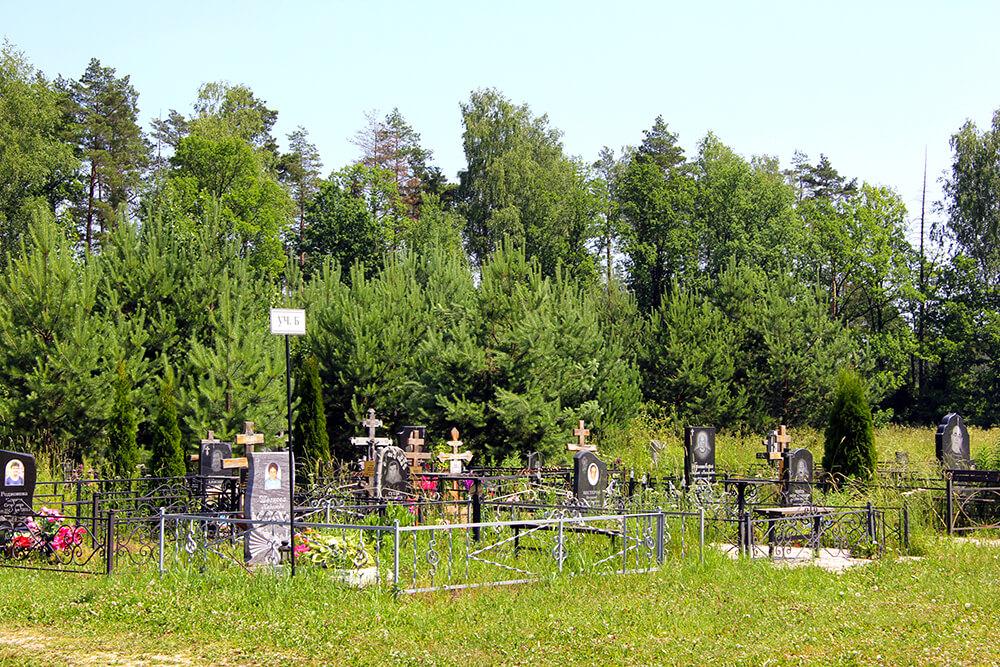 Новое Богословское кладбище. Фото 1