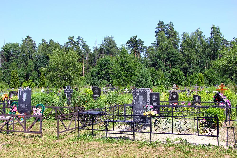 Новое Богословское кладбище. Фото 2