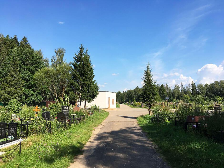 Новое Истринское кладбище. Фото 3