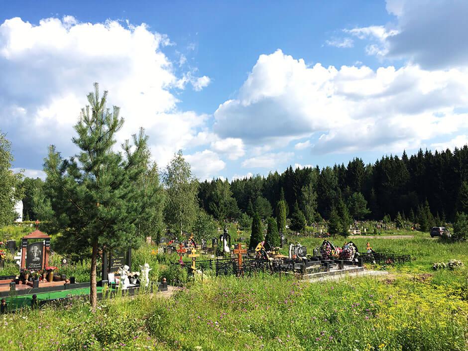 Новое Истринское кладбище. Фото 6