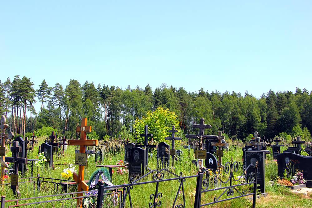 Новое Ногинское кладбище. Фото 2