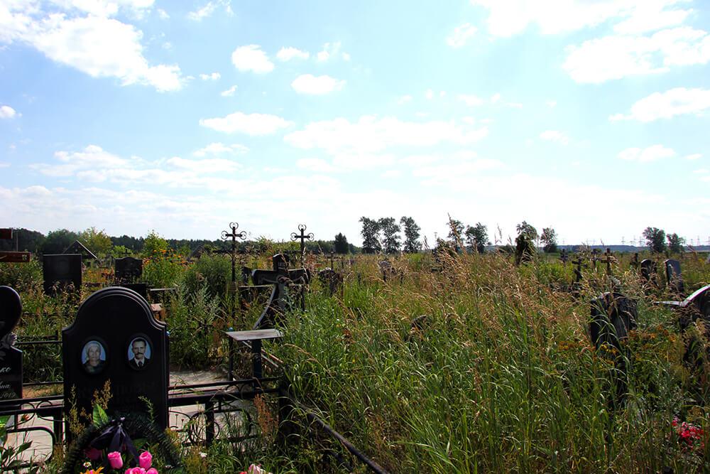 Новое Обуховское кладбище. Фото 10