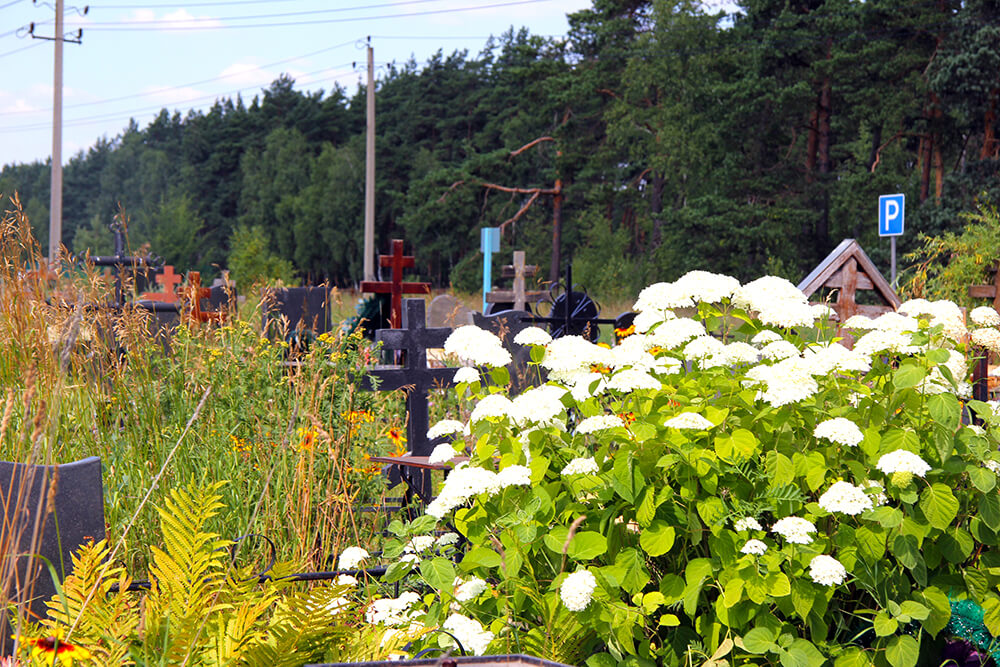 Новое Обуховское кладбище. Фото 12