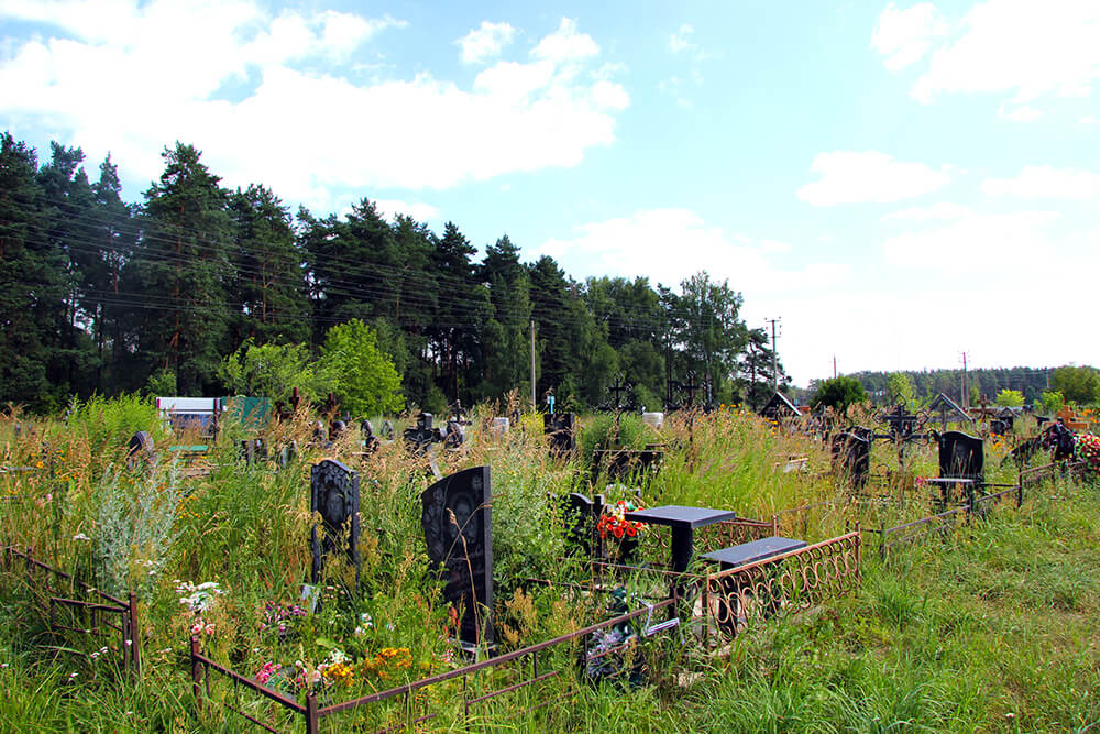 Новое Обуховское кладбище. Фото 13