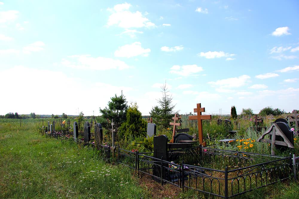 Новое Обуховское кладбище. Фото 14