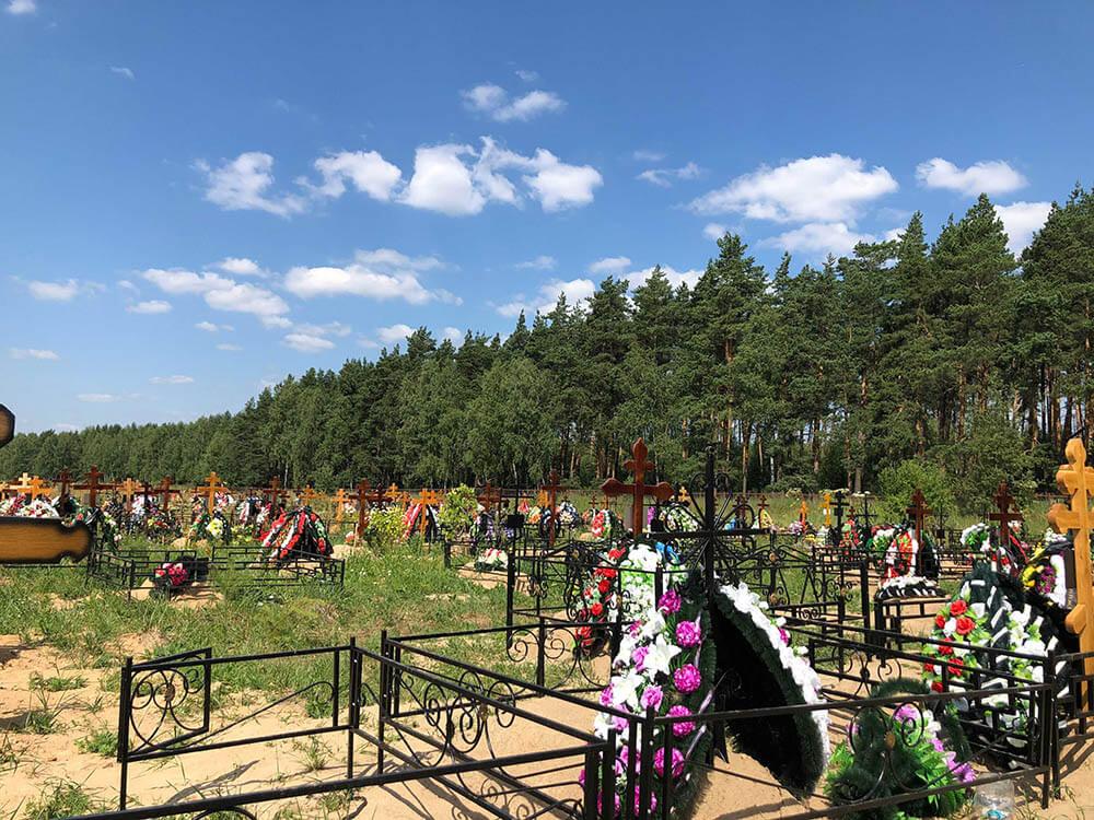 Новое Обуховское кладбище. Фото 3