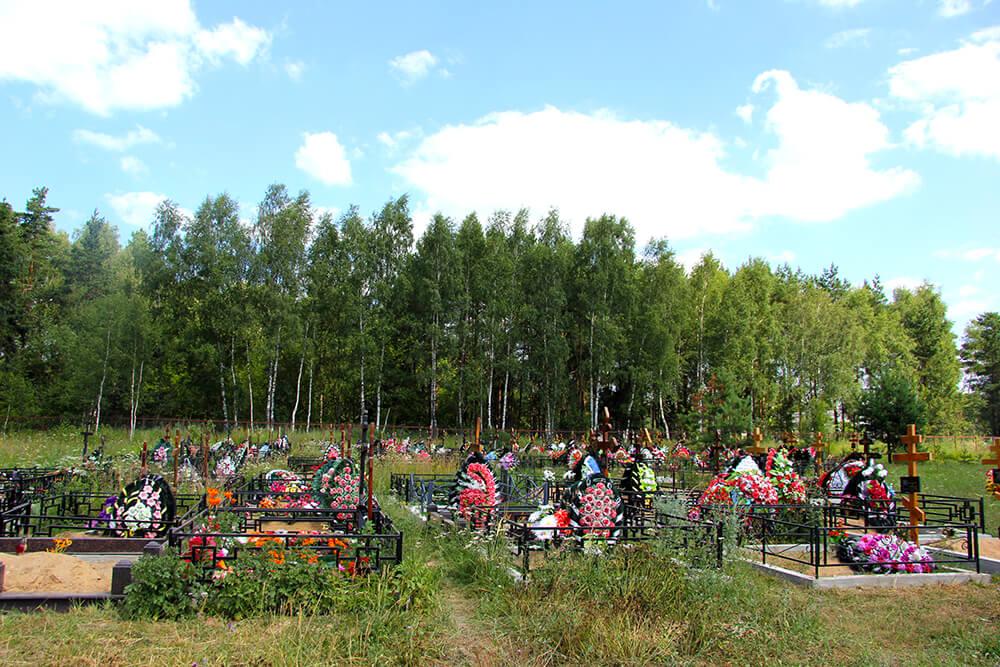 Новое Обуховское кладбище. Фото 4