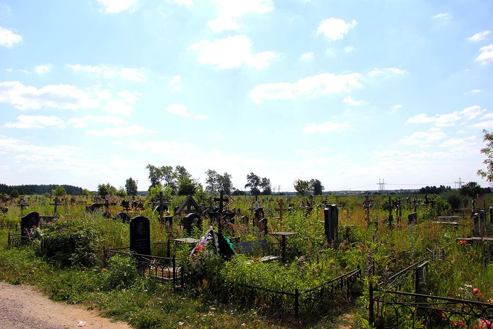 Новое Обуховское кладбище. Фото 5