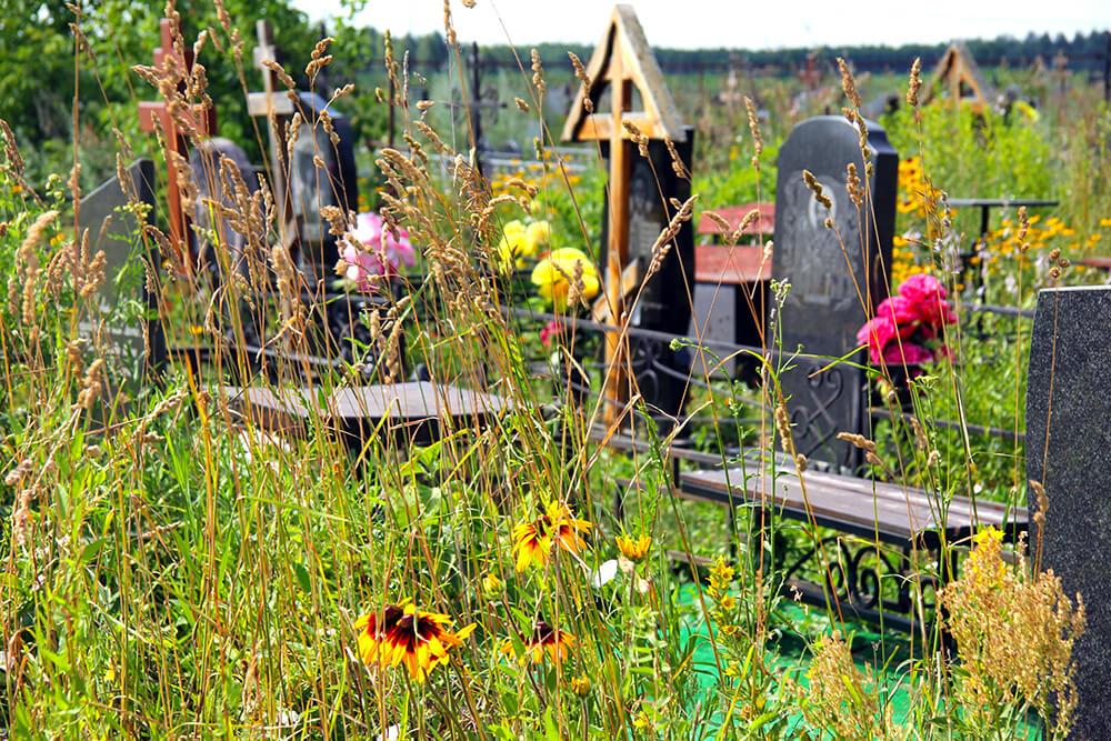 Новое Обуховское кладбище. Фото 6