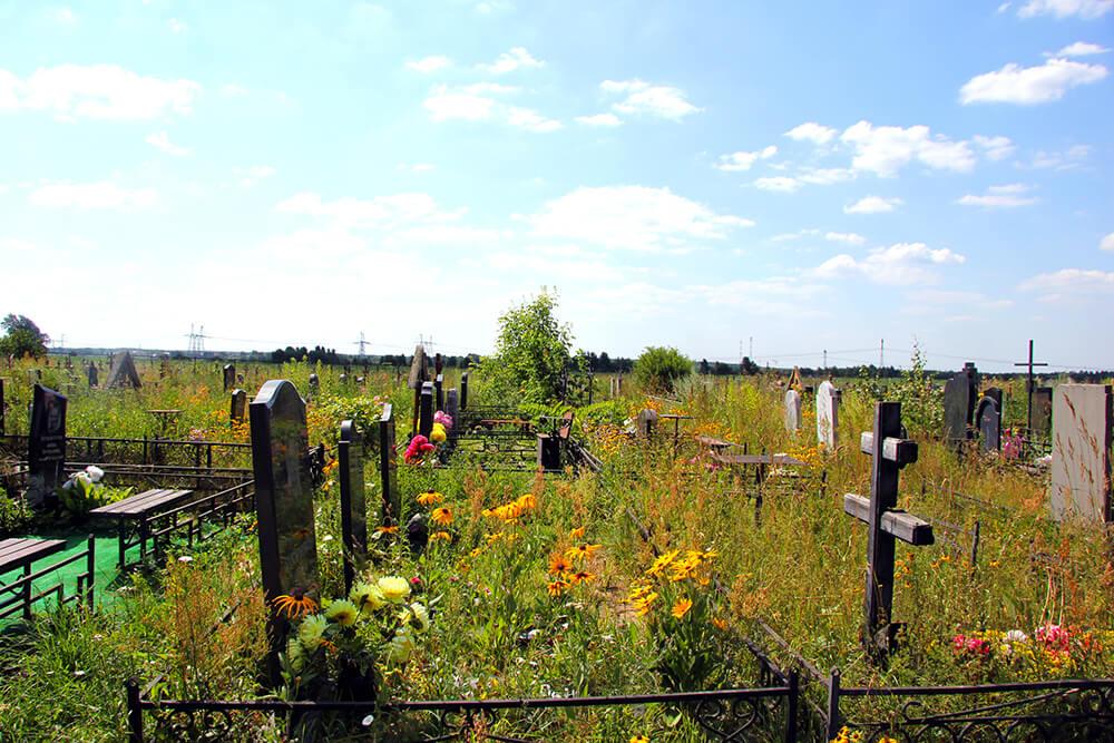 Новое Обуховское кладбище. Фото 7