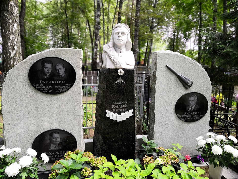 Новолужинское кладбище. Фото 7