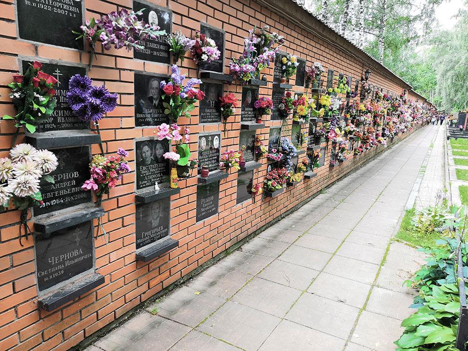 Новолужинское кладбище. Фото 8
