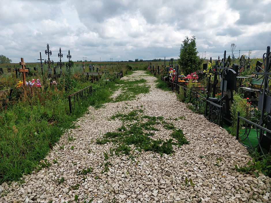 Обуховское кладбище. Фото 1
