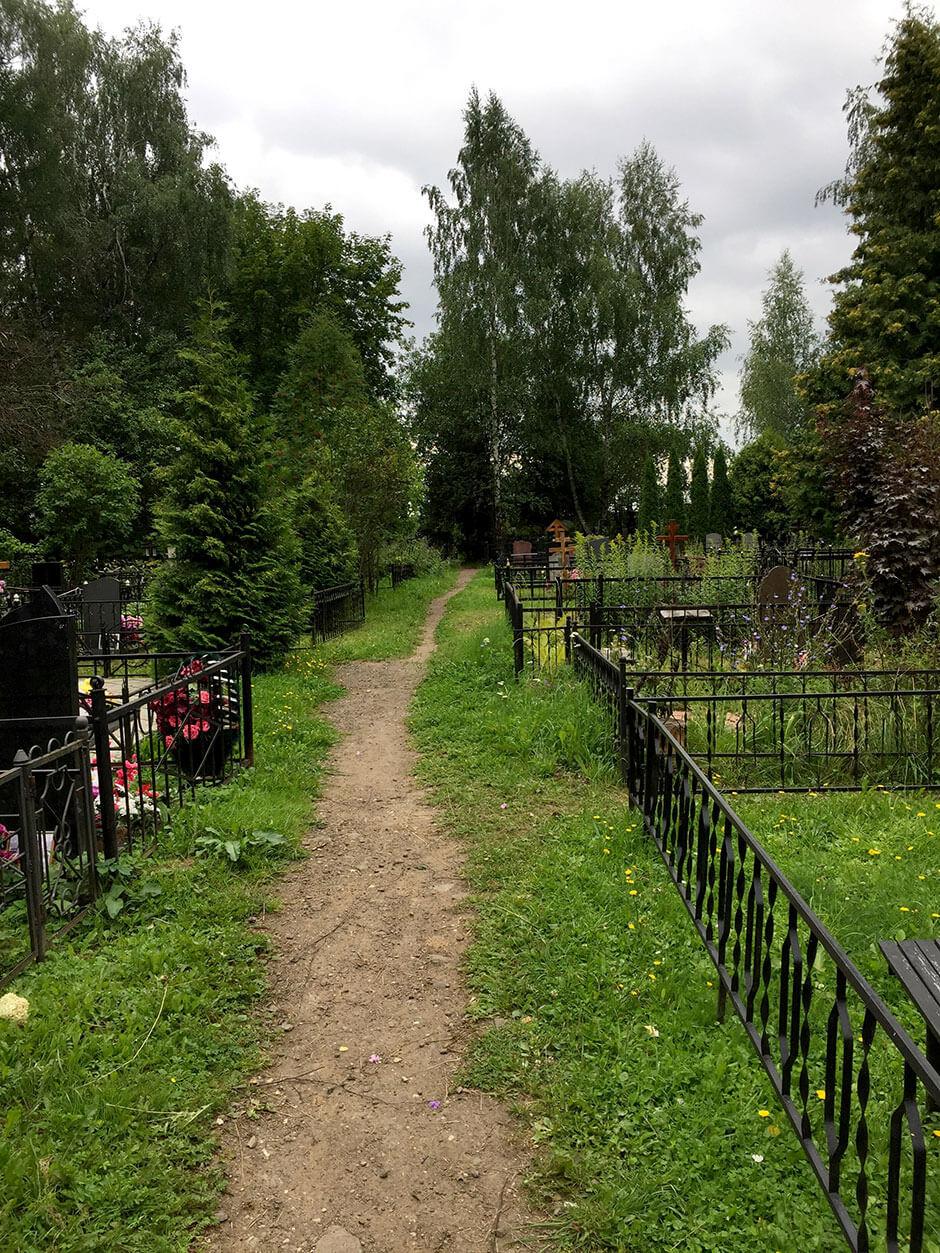 Осташковское кладбище. Фото 3