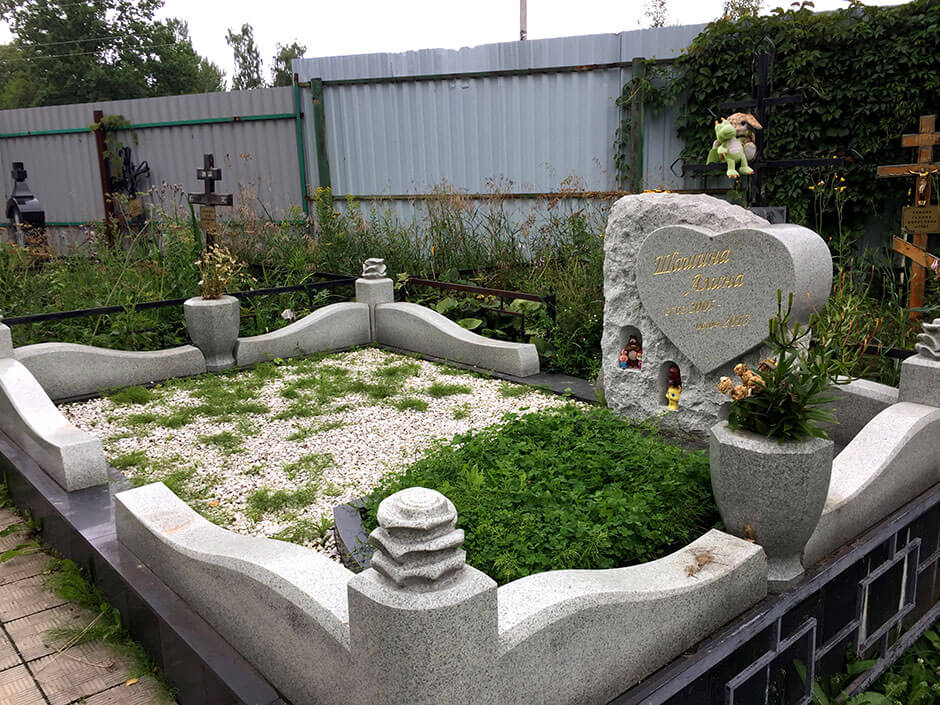 Осташковское кладбище. Фото 5