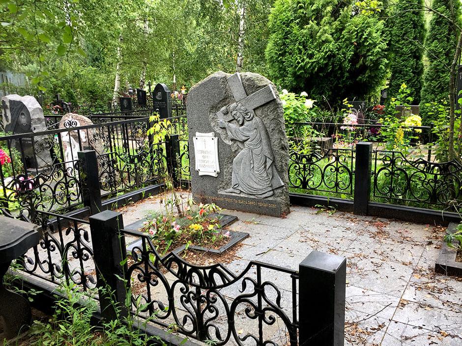 Осташковское кладбище. Фото 6