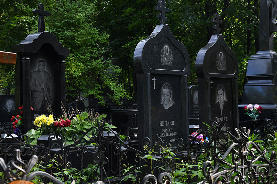 Перовское кладбище. Фото 6