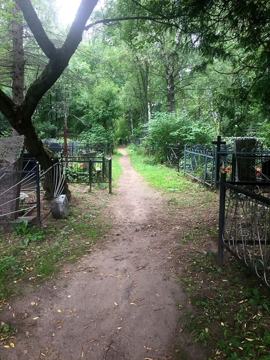 Пироговское кладбище. Фото 4