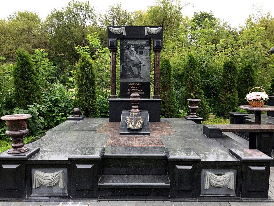 Пироговское кладбище. Фото 7