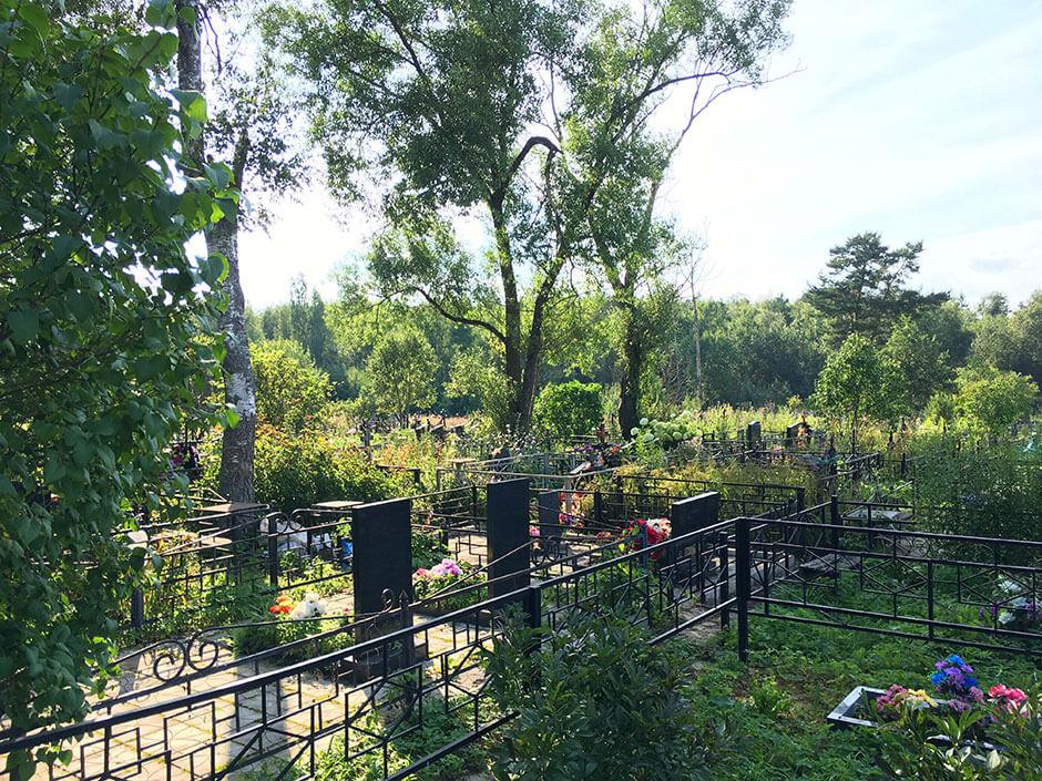 Гражданское кладбище Поварово. Фото 4