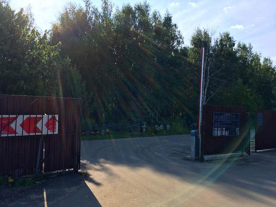 Гражданское кладбище Поварово. Фото 5