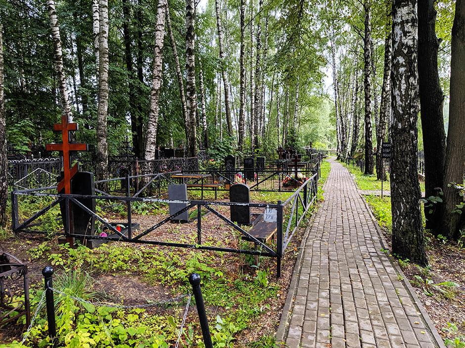 Пушкинское (Новогорское) кладбище. Фото 1