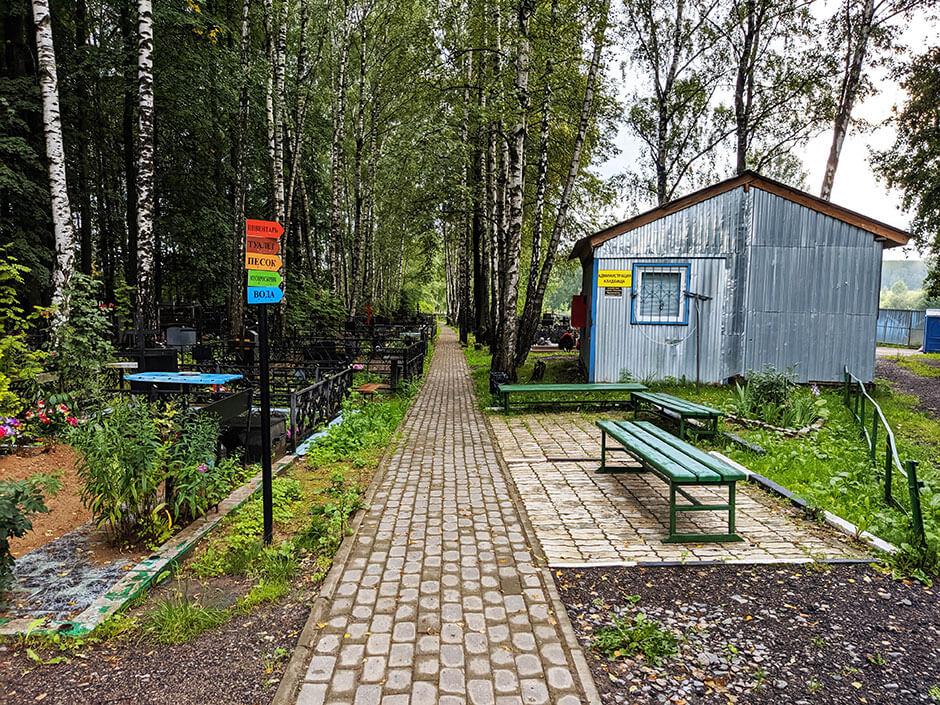 Пушкинское (Новогорское) кладбище. Фото 3