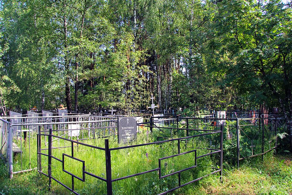 Родниковское кладбище. Фото 11