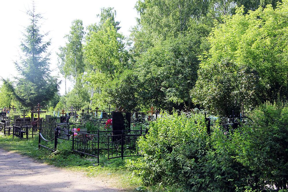 Родниковское кладбище. Фото 12