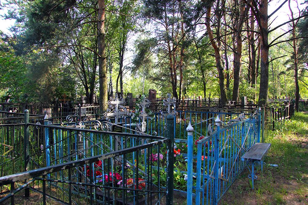 Родниковское кладбище. Фото 13